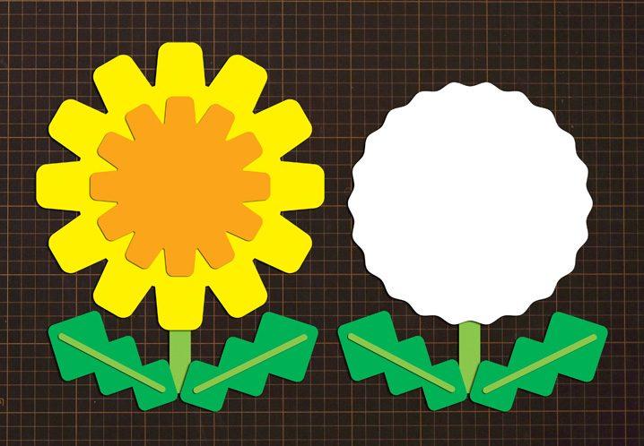 無料ダウンロード型紙で「たんぽぽ」の壁面飾りを作ってみた! 春 3月 4月 5月 保育園 幼稚園 介護施設 デイサービス 壁面装飾 製作